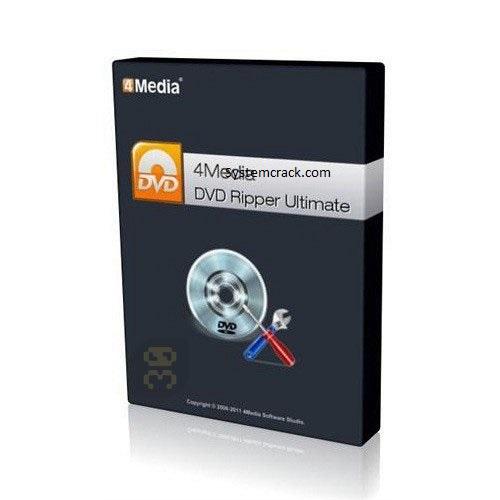4Media DVD Ripper Ultimate Crack 7.8.24