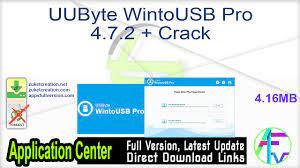 UUByte WintoUSB Pro 4.7.2.91 With Crack [Latest] 2022